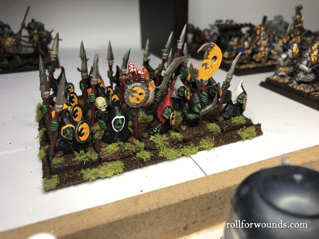 Night goblin spearmen