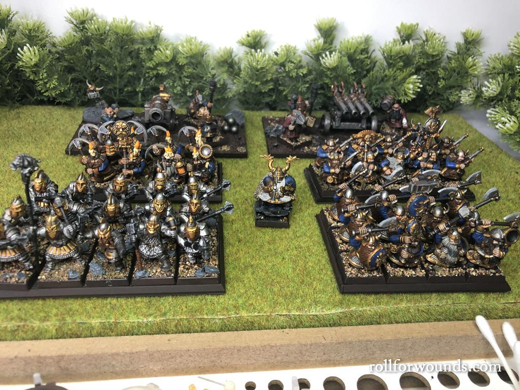 Skull Pass Dwarf army (painted)