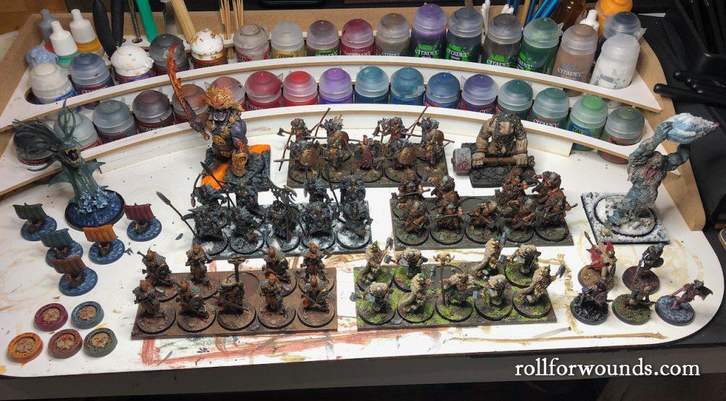 Blood Rage army proxies