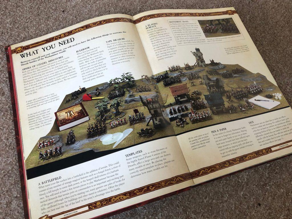 Warhammer Fantasy setup instructions