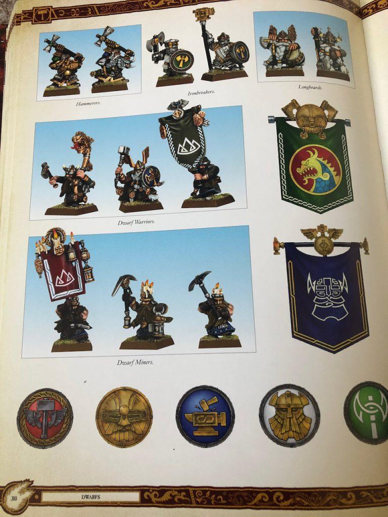 Warhammer Fantasy dwarves codex