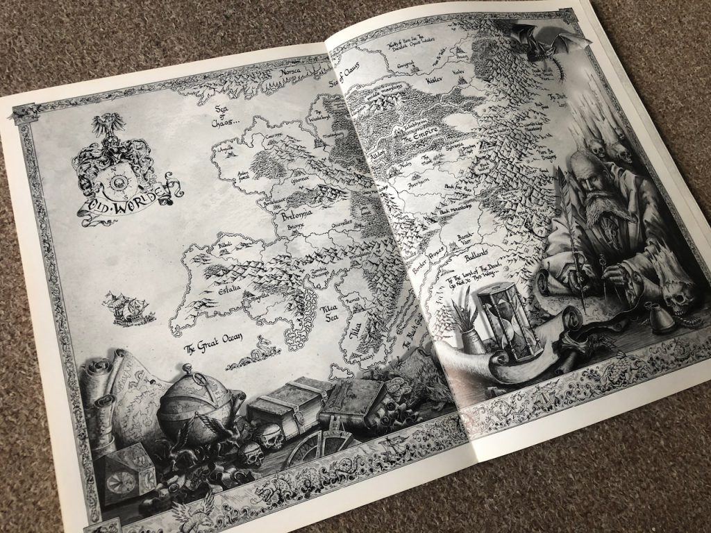 Warhammer The Old World Map