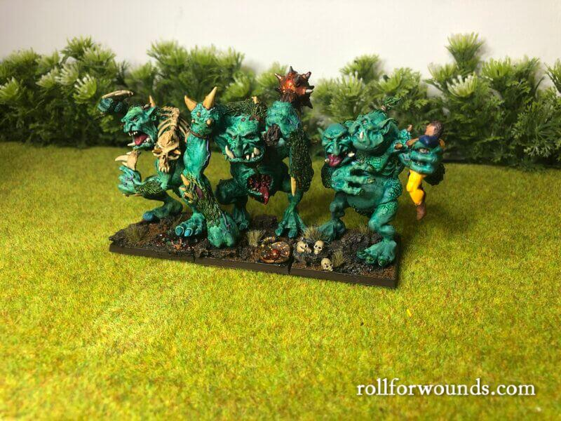Trolls of Chaos painted