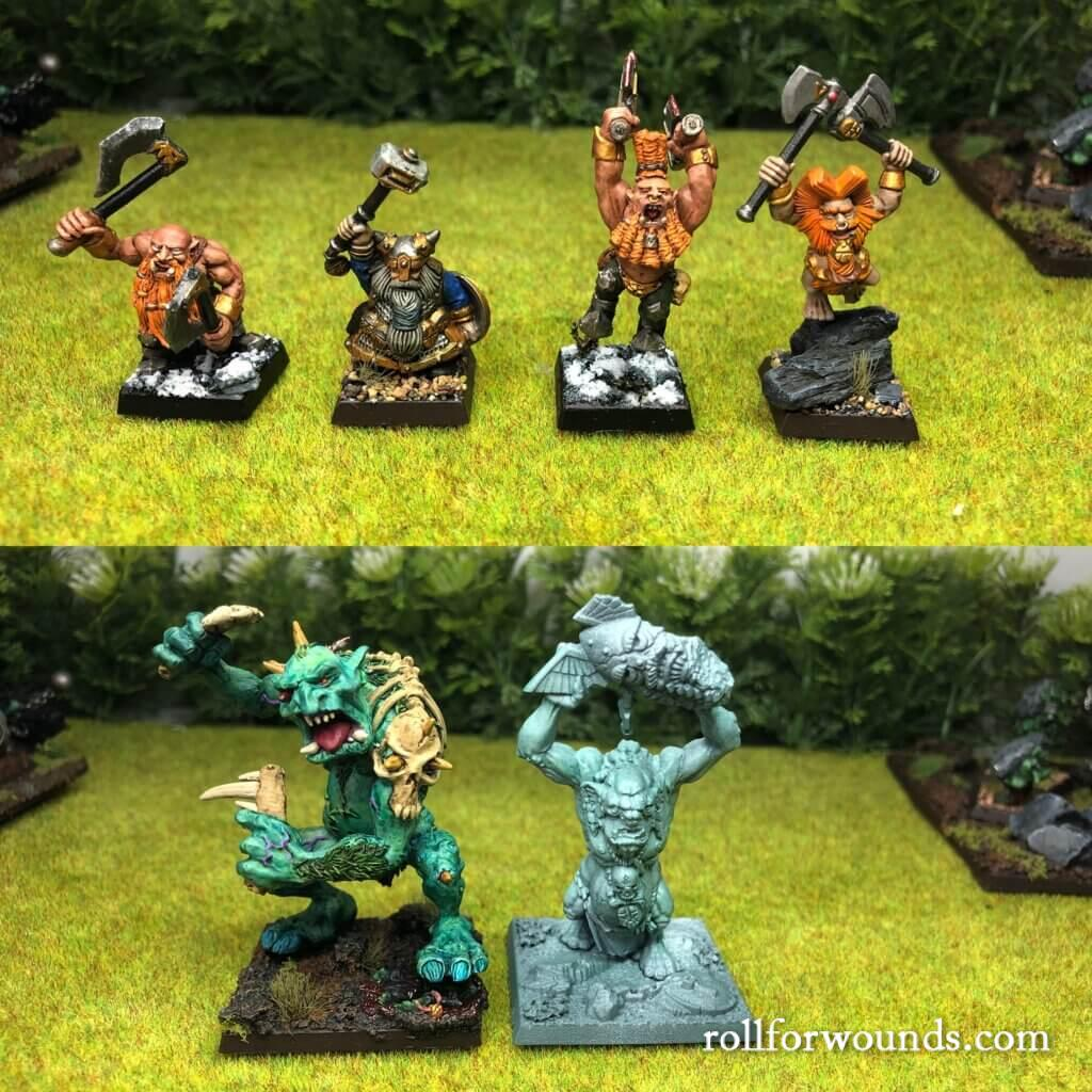 Russian Alternative proxies compared to Games Workshop miniatures