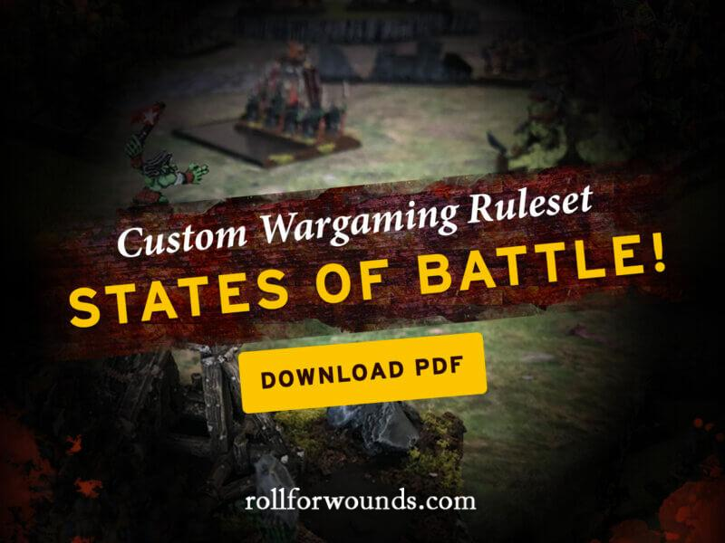 States of Battle wargaming rules