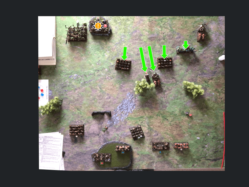 Greenskin army advances for battle report