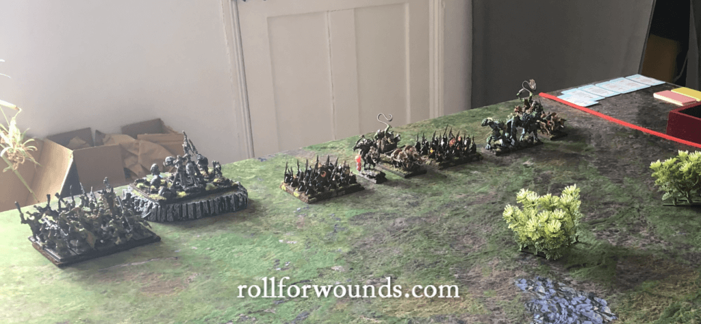 Orc & goblin army (Warhammer Fantasy 6th Edition)