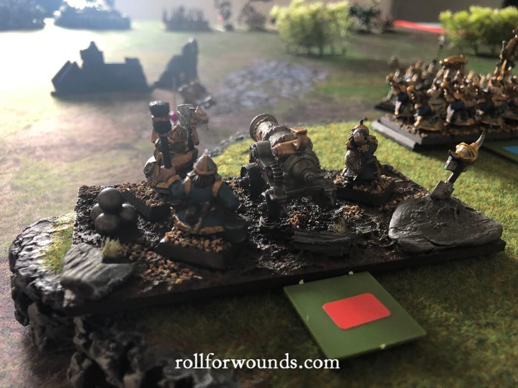 Dwarf cannon misfire