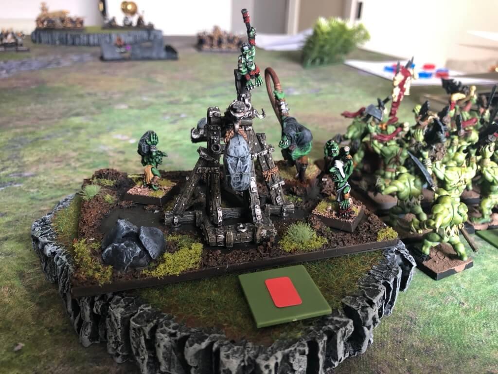 Goblin rock lobber misfires